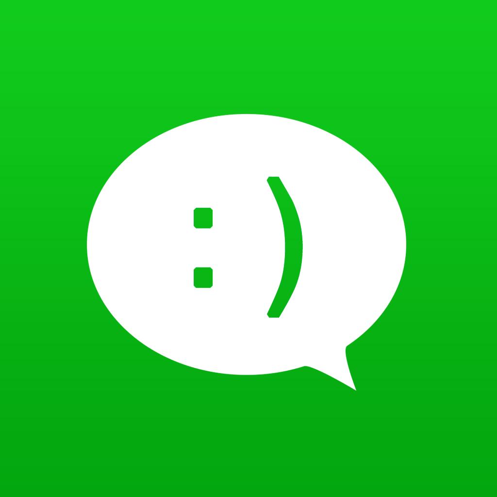 0 mb 描述 使用各种奇怪的表情文字,给聊天添加趣味.
